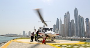 Aviation pioneer Breitling brought its passion to life as it treated guests to an exclusive helicopter flight