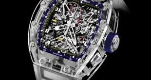 collection magazine richatd mille watch