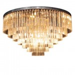 Odeon Chandelier Large 7 Rings collection magazine