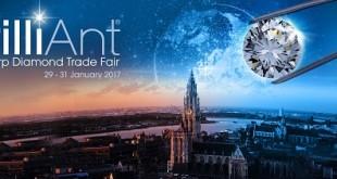 Antwerp Diamond Trade Fair re-branded as BrilliAnt®