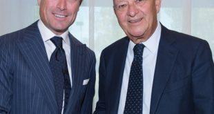 Lorenzo Cagnoni, President  IEG, & Matteo Marzotto, Vice Presidente IEG
