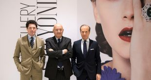 Italian Exhibition Group President Lorenzo Cagnoni, with Mattea Marzotto and Corrado Facco.