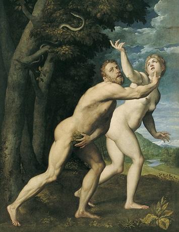 ADAM & EVE by SALVIATI
